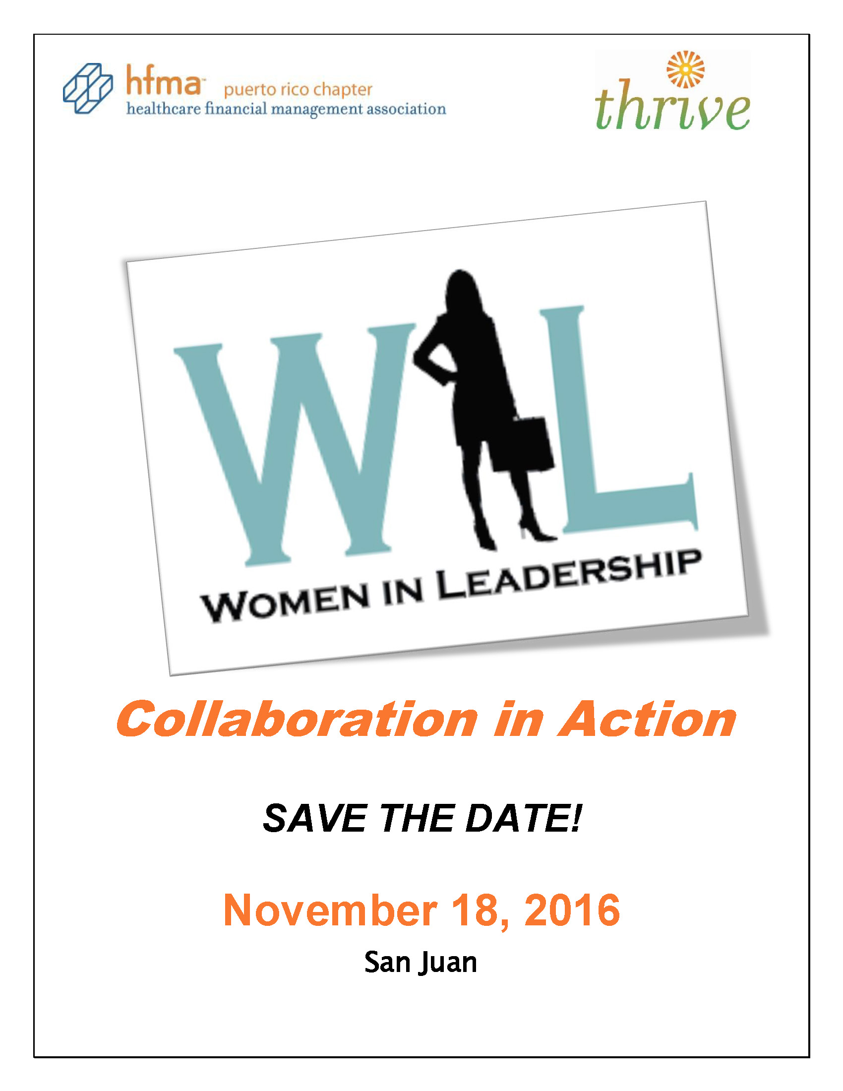 SAVE THE DATE WOMAN IN LEADERSHIP